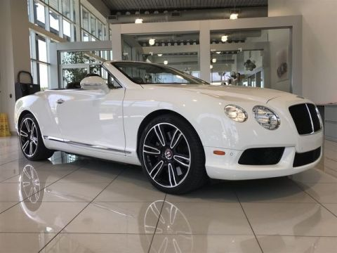 Pre-Owned 2013 Bentley Continental GT V8 GT V8 Convertible AWD