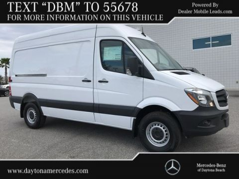 New Mercedes-Benz Sprinter Cargo Van 2500 Standard Roof V6 144 RWD