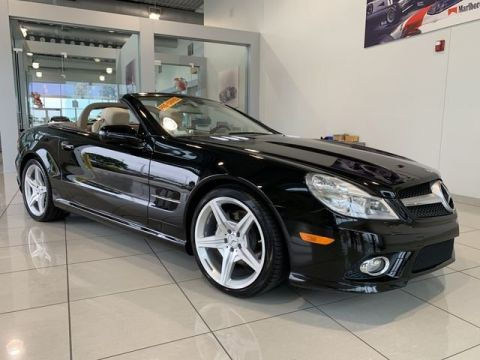 Pre-Owned 2009 Mercedes-Benz SL-Class SL 550 With Navigation