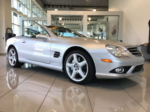 Pre-Owned 2007 Mercedes-Benz SL-Class SL 55 AMG® With Navigation