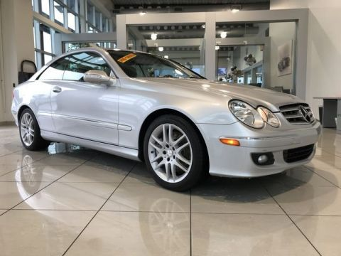 Pre-Owned 2009 Mercedes-Benz CLK 350 Coupe RWD Coupe