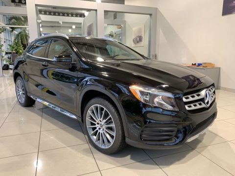 Certified Pre-Owned 2018 Mercedes-Benz GLA GLA 250 Front Wheel Drive SUV