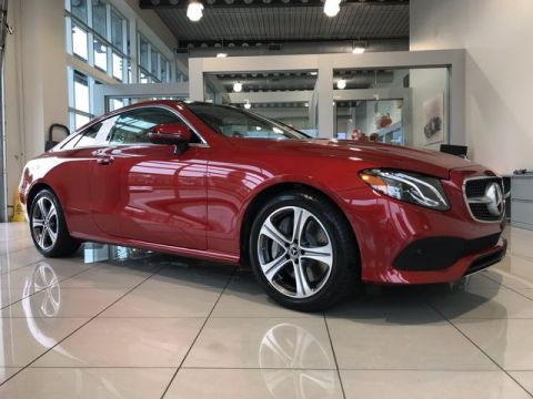 Certified Pre-Owned 2018 Mercedes-Benz E 400 Coupe RWD Coupe