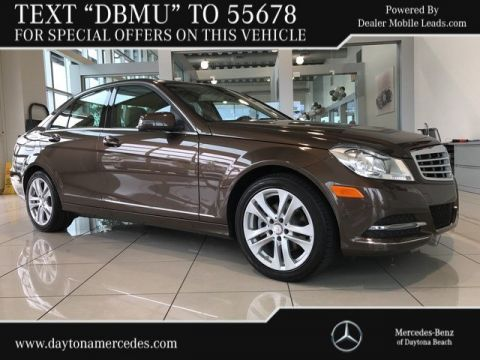 Pre-Owned 2014 Mercedes-Benz C 250 Rear Wheel Drive SEDAN