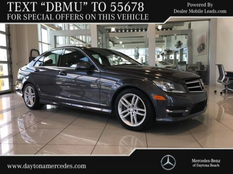 Pre-Owned 2014 Mercedes-Benz C 250 Sport Rear Wheel Drive SEDAN