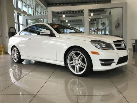Pre-Owned 2013 Mercedes-Benz C 250 Rear Wheel Drive COUPE