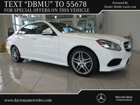 Certified Pre-Owned 2015 Mercedes-Benz E-Class E 350 Sport Rear Wheel Drive SEDAN