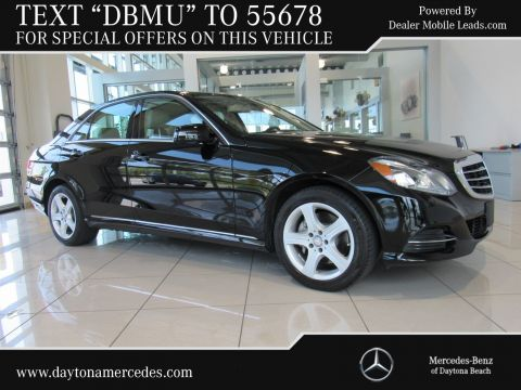 Certified Pre-Owned 2016 Mercedes-Benz E-Class E 350 Rear Wheel Drive SEDAN