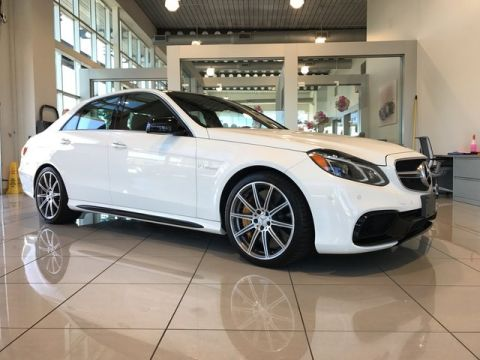 Certified Pre-Owned 2014 Mercedes-Benz E 63 AMG® S-Model AWD 4MATIC®