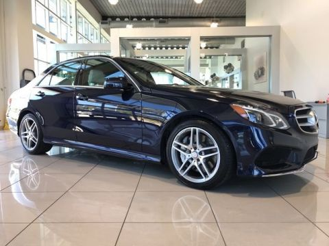Certified Pre-Owned 2014 Mercedes-Benz E 550 AWD 4MATIC®