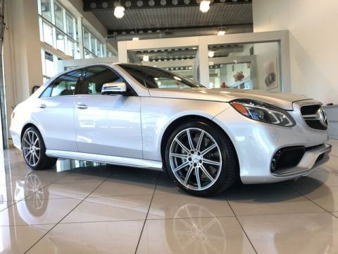 Certified Pre-Owned 2014 Mercedes-Benz E-Class AMG® E 63 AWD 4MATIC®