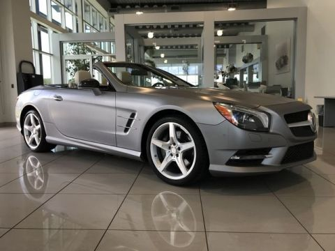 Certified Pre-Owned 2016 Mercedes-Benz SL 550 Rear Wheel Drive ROADSTER
