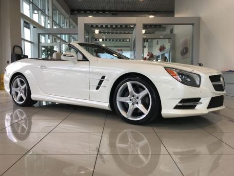 Certified Pre-Owned 2016 Mercedes-Benz SL 550 RWD Convertible