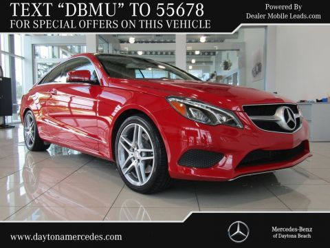 Certified Pre-Owned 2014 Mercedes-Benz E-Class E 350 Sport Rear Wheel Drive COUPE