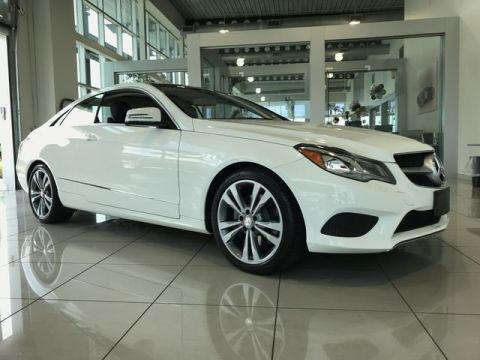 Certified Pre-Owned 2015 Mercedes-Benz E-Class E 400 Coupe
