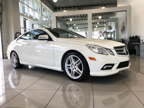 Pre-Owned 2011 Mercedes-Benz E 550 Coupe RWD Coupe