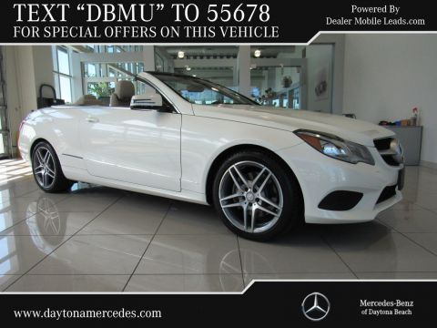 Certified Pre-Owned 2014 Mercedes-Benz E-Class E 350 Sport Rear Wheel Drive CABRIOLET
