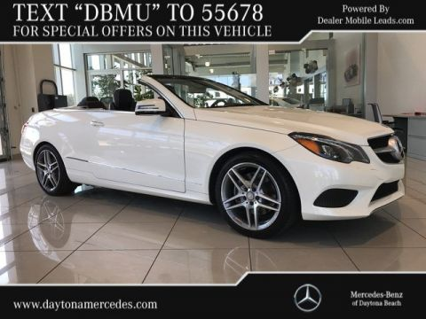 Certified Pre-Owned 2014 Mercedes-Benz E 350 Sport Rear Wheel Drive CABRIOLET