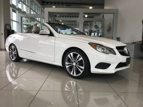 Pre-Owned 2015 Mercedes-Benz E 400 Rear Wheel Drive CABRIOLET