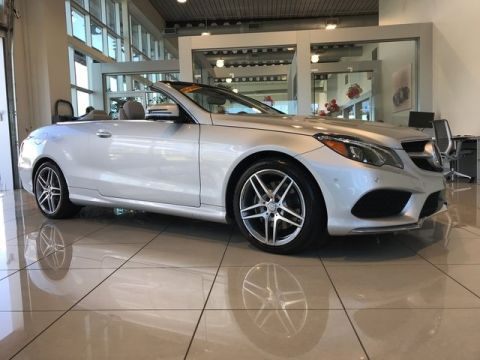 Pre-Owned 2017 Mercedes-Benz E 400 Sport Rear Wheel Drive CABRIOLET
