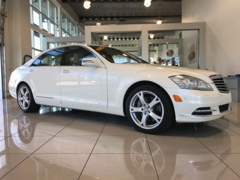 Pre-Owned 2013 Mercedes-Benz S 550 RWD 4dr Car