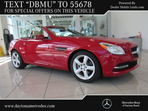 Certified Pre-Owned 2015 Mercedes-Benz SLK 250 Rear Wheel Drive COUP/RDST