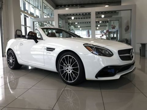 Certified Pre-Owned 2017 Mercedes-Benz AMG® SLC 43 RWD Convertible