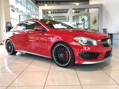 Pre-Owned 2014 Mercedes-Benz AMG® CLA 45 AWD 4MATIC®
