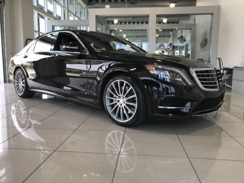 Certified Pre-Owned 2016 Mercedes-Benz S 550 RWD 4dr Car