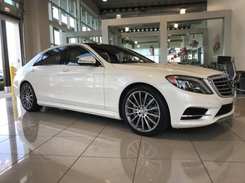Certified Pre-Owned 2015 Mercedes-Benz S 550 Sport Rear Wheel Drive SEDAN