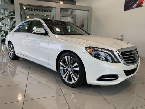 Certified Pre-Owned 2015 Mercedes-Benz S-Class S 550 4MATIC® With Navigation & AWD