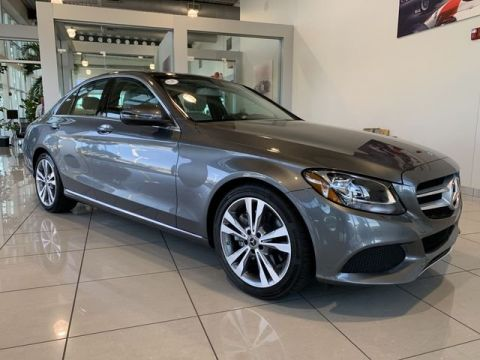 Certified Pre-Owned 2018 Mercedes-Benz C-Class C 300 RWD 4dr Car