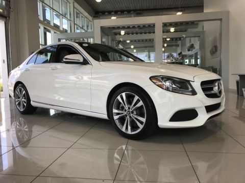 Certified Pre-Owned 2018 Mercedes-Benz C 300 RWD 4dr Car