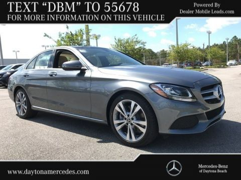 New 2018 Mercedes-Benz C 300 RWD 4dr Car