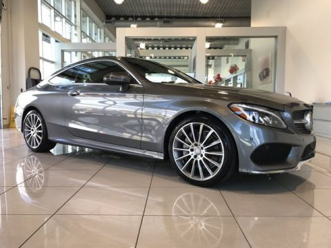 Pre-Owned 2017 Mercedes-Benz C 300 RWD 2dr Car