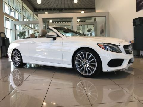 Pre-Owned 2017 Mercedes-Benz C 300 RWD Convertible