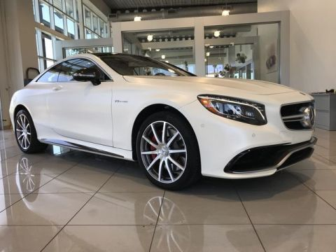 Certified Pre-Owned 2016 Mercedes-Benz S-Class AMG® S 63 Coupe AWD 4MATIC®