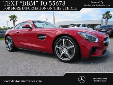 New 2017 Mercedes-Benz AMG® GT  Rear Wheel Drive COUPE