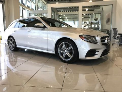 Certified Pre-Owned 2017 Mercedes-Benz E 400 AWD 4MATIC®