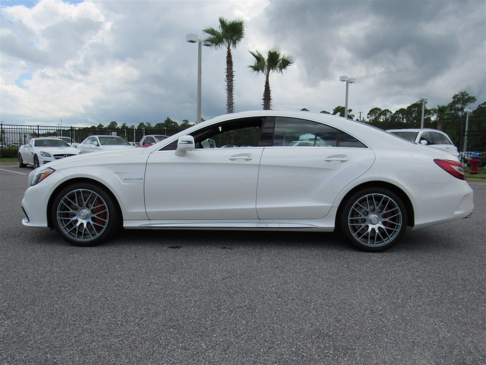 New 2017 mercedes benz cls amg cls 63 s 4matic coupe in for Mercedes benz daytona beach