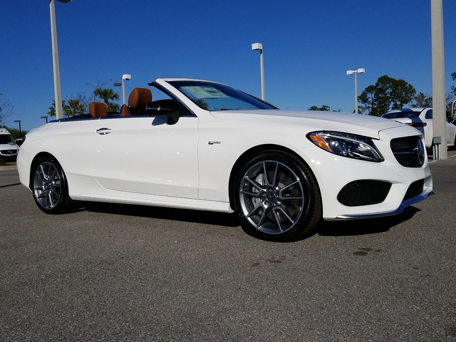 New 2018 Mercedes Benz C Class AMG C 43 4MATIC Convertible in