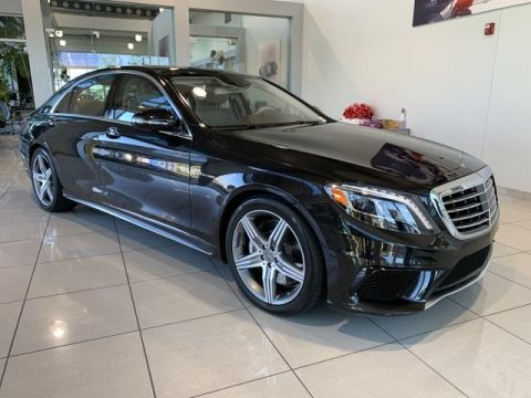 Certified Pre-Owned 2016 Mercedes-Benz S-Class AMG® S 63 Long Wheelbase 4MATIC